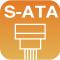 支持S-ATA(串行ATA)连接器